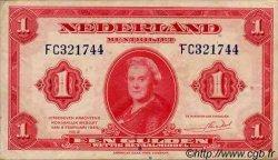 1 Gulden PAYS-BAS  1943 P.064 TTB