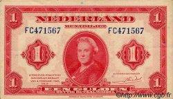 1 Gulden PAYS-BAS  1943 P.064 SUP
