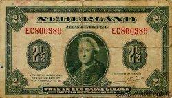 2,5 Gulden PAYS-BAS  1943 P.065 pr.TB
