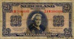 2,5 Gulden PAYS-BAS  1945 P.071 B+