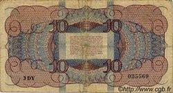 10 Gulden PAYS-BAS  1945 P.074 pr.TB