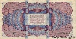 10 Gulden PAYS-BAS  1945 P.074 TTB
