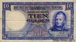10 Gulden PAYS-BAS  1945 P.075a TTB