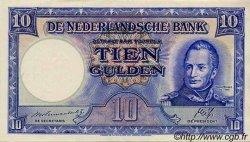 10 Gulden PAYS-BAS  1945 P.075b SPL
