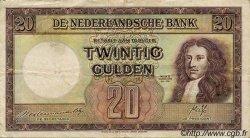 20 Gulden PAYS-BAS  1945 P.076 TTB