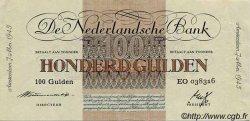 100 Gulden PAYS-BAS  1945 P.079 pr.SUP