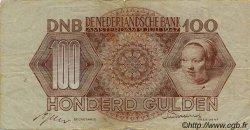 100 Gulden PAYS-BAS  1947 P.082 TB
