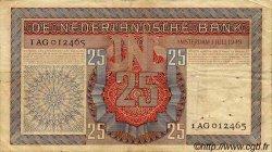25 Gulden PAYS-BAS  1949 P.084 TB