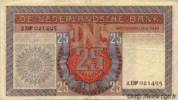 25 Gulden PAYS-BAS  1949 P.084 TTB