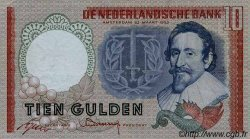 10 Gulden PAYS-BAS  1953 P.085 TTB+ à SUP