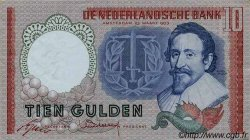 10 Gulden PAYS-BAS  1953 P.085 SUP
