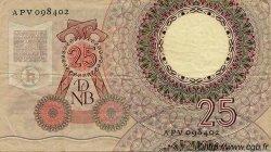 25 Gulden PAYS-BAS  1955 P.087 TTB