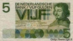 5 Gulden PAYS-BAS  1966 P.090a TTB