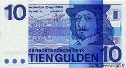 10 Gulden PAYS-BAS  1968 P.091b NEUF