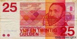 25 Gulden PAYS-BAS  1971 P.092 TTB