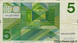 5 Gulden PAYS-BAS  1973 P.095 TB