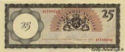 25 Gulden ANTILLES NÉERLANDAISES  1962 P.03a SUP+