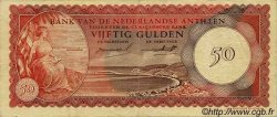50 Gulden ANTILLES NÉERLANDAISES  1962 P.04a TTB