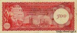 500 Gulden ANTILLES NÉERLANDAISES  1962 P.07a TTB