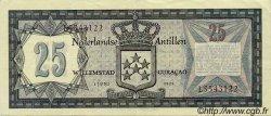 25 Gulden ANTILLES NÉERLANDAISES  1972 P.10b SUP