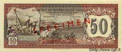 50 Gulden ANTILLES NÉERLANDAISES  1967 P.11s SPL+