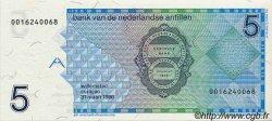 5 Gulden ANTILLES NÉERLANDAISES  1986 P.22a NEUF