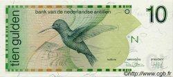 10 Gulden ANTILLES NÉERLANDAISES  1986 P.23a NEUF