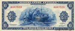 2,5 Gulden ANTILLES NÉERLANDAISES  1955 P.A01a pr.SPL