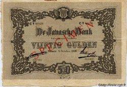 50 Gulden INDES NEERLANDAISES  1920 P.055s TTB