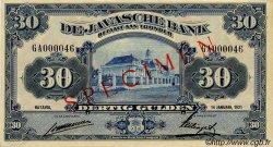 30 Gulden INDES NEERLANDAISES  1921 P.067s SPL+