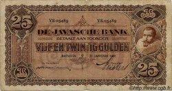 25 Gulden INDES NEERLANDAISES  1930 P.071 B+ à TB