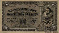 100 Gulden INDES NEERLANDAISES  1928 P.073 TTB