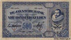 500 Gulden INDES NEERLANDAISES  1926 P.076 TTB