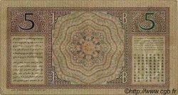 5 Gulden INDES NEERLANDAISES  1927 P.078 TTB