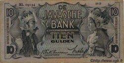 10 Gulden INDES NEERLANDAISES  1938 P.079 TB à TTB