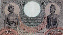 50 Gulden INDES NEERLANDAISES  1938 P.081 pr.SUP