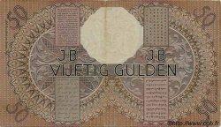 50 Gulden INDES NEERLANDAISES  1939 P.081 TTB