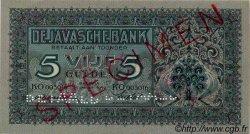 5 Gulden INDES NEERLANDAISES  1942 P.086s NEUF