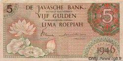 5 Gulden INDES NEERLANDAISES  1946 P.088 TTB