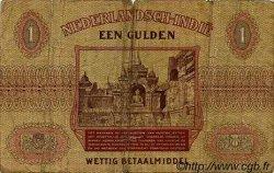 1 Gulden INDES NEERLANDAISES  1940 P.108a B à TB