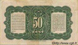 50 Cent INDES NEERLANDAISES  1943 P.110a TTB
