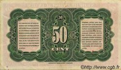 50 Cent INDES NEERLANDAISES  1943 P.110a TTB à SUP