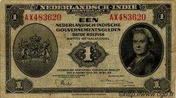 1 Gulden INDES NEERLANDAISES  1943 P.111a TB