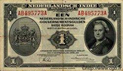 1 Gulden INDES NEERLANDAISES  1943 P.111a TTB