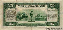 25 Gulden INDES NEERLANDAISES  1943 P.115a