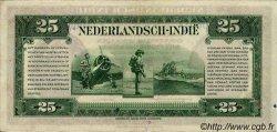 25 Gulden INDES NEERLANDAISES  1943 P.115a SUP