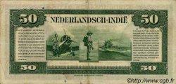 50 Gulden INDES NEERLANDAISES  1943 P.116a TTB