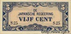 5 Cent INDES NEERLANDAISES  1942 P.120a SPL