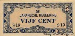 5 Cent INDES NEERLANDAISES  1942 P.120a pr.NEUF