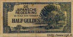 1/2 Gulden INDES NEERLANDAISES  1942 P.122b TB